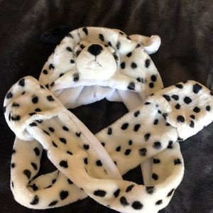 Other - Dalmatian Dog Hat with hand warmer pockets